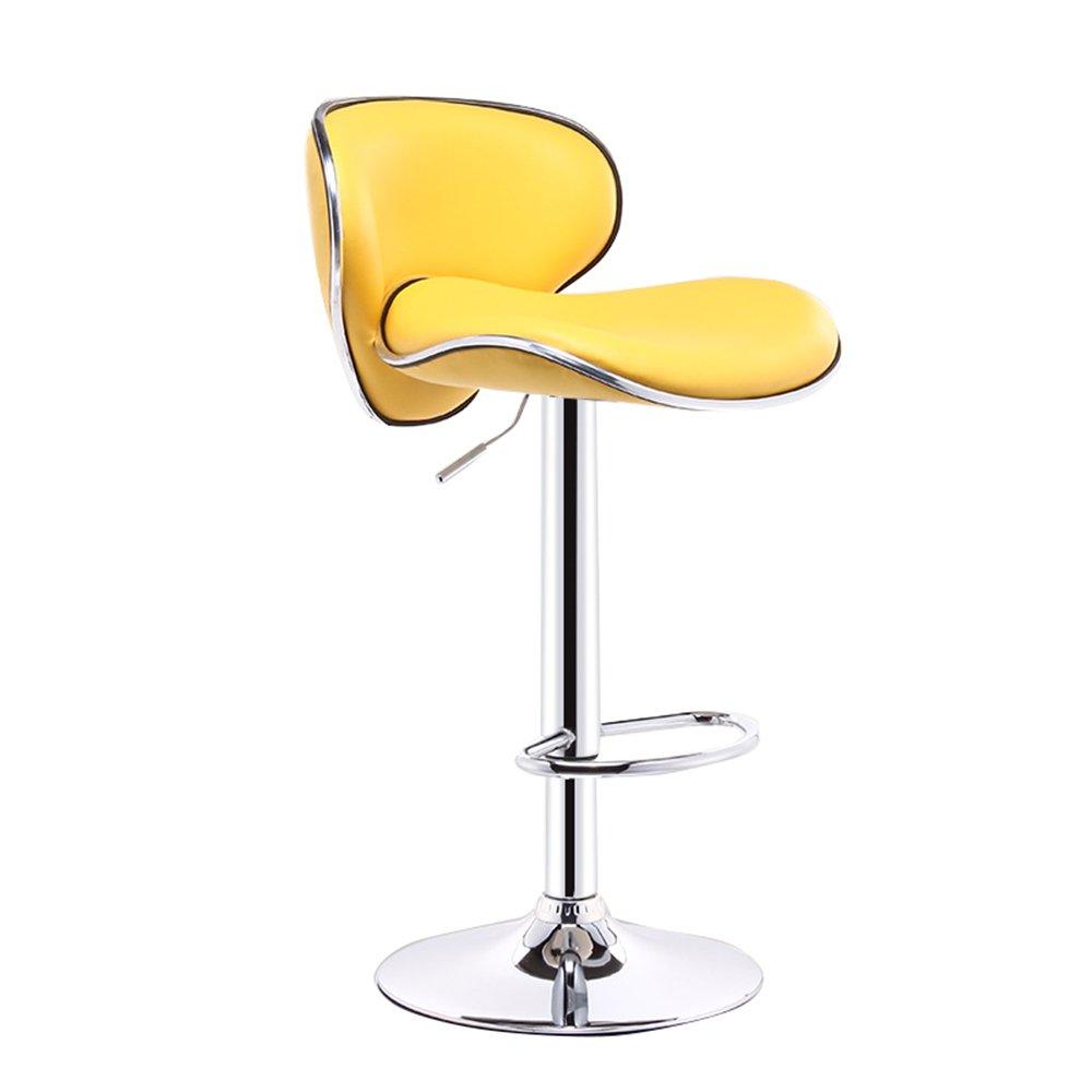 10  38.5cm Yan Fei Bar Chair, Fashion Hair Salon Chair, Cashier Swivel Chair, Lounge Chair, high Chair, Continental Breakfast Chair (11 colors, 2 Sizes) Comfortable Stools (color   7 , Size   41cm)