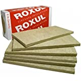 "Rockwool Acoustic Mineral Wool Insulation 80-8lb 48""x24""x2"" 6pcs"