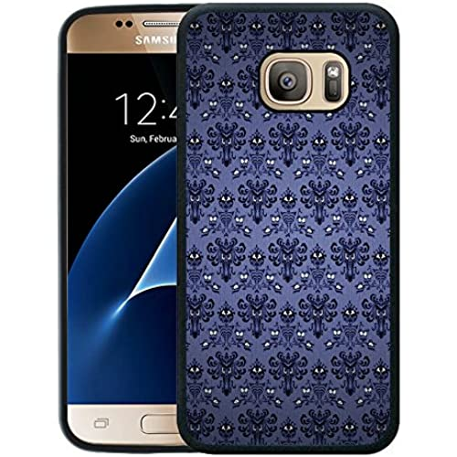 Galaxy S7 Case,S7 Case,The Haunted Mansion 1 Black Rubber Case For Samsung Galaxy S7 Sales