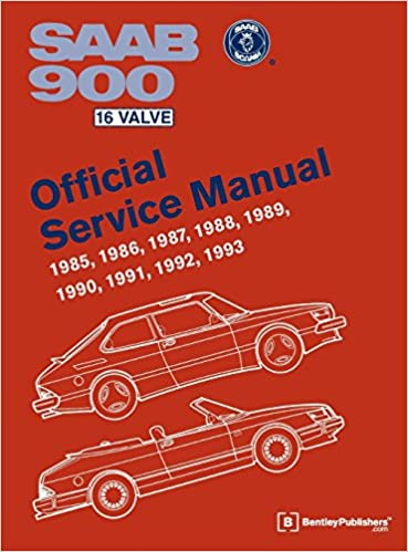 Saab 900 16 Valve Official Service Manual: 1985, 1986, 1987, 1988, 1989,  1990, 1991, 1992, 1993: Bentley Publishers: 9780837616933: Amazon.com: BooksAmazon.com