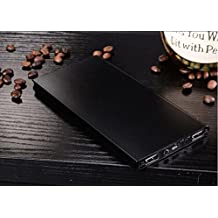 TR.OD Ultrathin 6000Mah External Battery Charger Power Bank Fashionable Portable Perfect Black