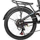 """20"""" High Tensile Steel Folding Bike Mini Bicycle"""
