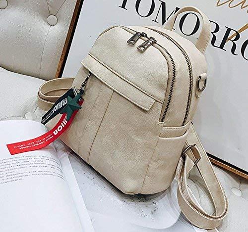 Eeayyygch Reisetasche, Rucksack, Rucksack, Pu-Tasche, Mode, Mehrzweck-, Mehrzweck-, Mehrzweck-, Grau (Farbe   Schwarz, Größe   -) B07JJ897QC Umhngetaschen Hohe Qualität und geringer Aufwand c0d5f5