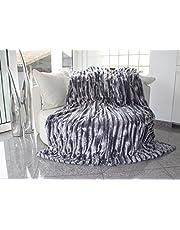 Brandseller - Faux Fur deken, omkeerbaar
