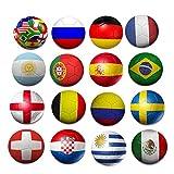 Sunfei Creative Country Flag Soccer Football