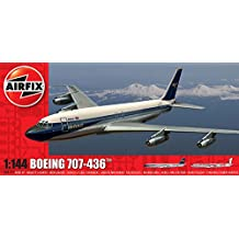 Airfix Plastic Models Kits A05171 Boeing 707 1:144 Commercial Airliner Plastic Model Kit