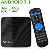 NewPal TV Box M8S Pro L 3G 16G Andriod 7.1 4K TV Box Built in 2.4G/5G WiFi Streaming Media Player (Andriod OS)
