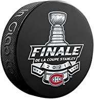 Inglasco Canadiens 2021 Stanley Cup Finals Souvenir Hockey Puck (French)