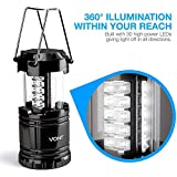 Vont 2 Pack LED Camping Lantern, Super Bright