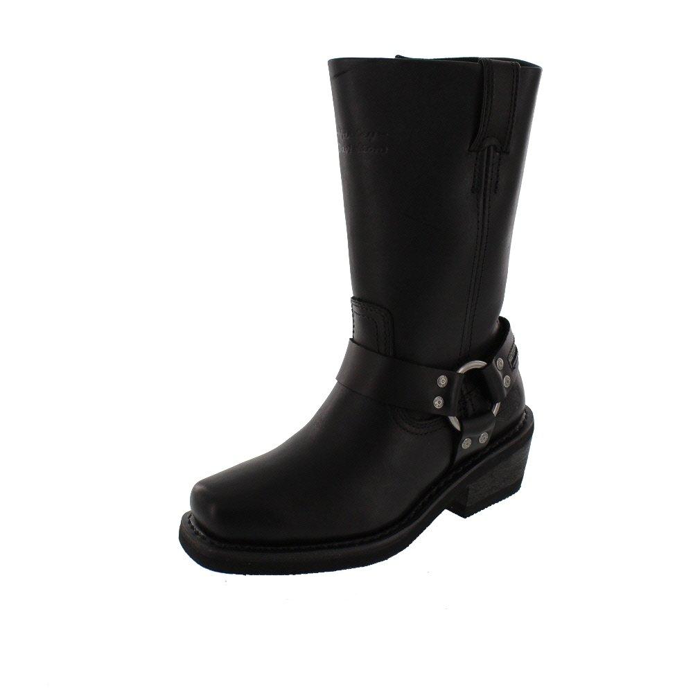 Harley_Davidson damen - Stiefel HUSTIN WP- Schwarz, Schuhgröße EUR 36