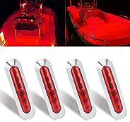 WIMACT Marine Boat Lights, Boat Interior Navigation led Strip Light Deck Courtesy Transom Step Cockpit Lightin