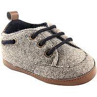Luvable Friends Boys' Wooly Sneaker