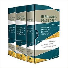BOX - COMENTÁRIO EXPOSITIVO DO NOVO TESTAMENTO: Os evangelhos - Atos e epístolas paulinas - Epístolas gerais e Apocalipse