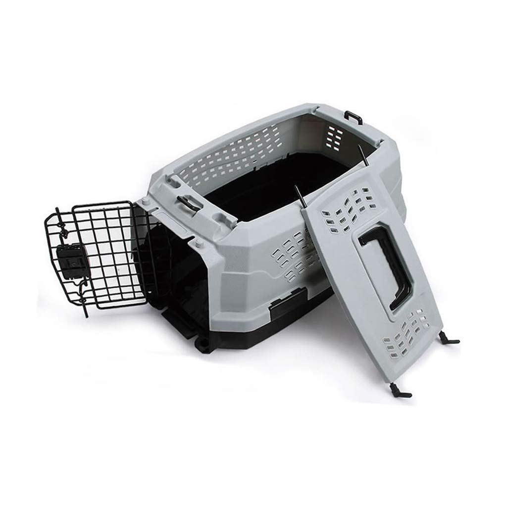 FJH Cat And Dog Pet Air Box Go To The Standard Out Of The Standard Cat And Dog Shipping Box Large And Mediumsized Pet Portable Cage