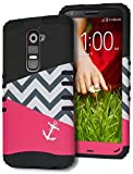 LG G2 Case, Bastex Heavy Duty Hybrid Hard Case