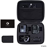 CamKix Case for GoPro Hero 5 Black - Perfect for Travel and Storage - Versatile EVA Interior with Precise Fit Cut - Complete Protection of Your GoPro Hero 5 Camera and Accessories - Durable and Strong