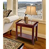 Olee Sleep Crema Cappuccino Natural Marble Top Solid Wood Edge Coffee Table/Tea Table/End Table/Side Table/Office Table/Computer Table/Vanity Table/Dining Table, (Brown/Brown)