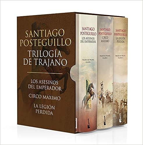 Estuche Trilogía de Trajano de Santiago Posteguillo