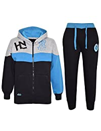Kids Tracksuit Boys Designer HNL Projection Hoodie Bottom Jogging Suit 7-13 Year