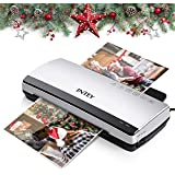 "Thermal Laminator - INTEY Laminating Machine, 9"" Max Width, 4min Warm-Up, 10 Laminating Pouches Included"