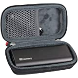 Hermitshell Hard EVA Travel Case Fits Jackery Bolt 6000 mAh Ultra-Compact External Battery Charger Portable Power Bank and Travel Charger