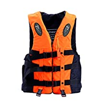 Meanhoo Professional Swimming Jackets Drifting for Adult and Children,Snorkeling Fishing Clothes Buoyancy Vest and Lifesaving Whistle.