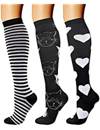 8cd817557db Compression Socks (3 Pairs) 15-20 mmHg is Best Athletic   Medical for