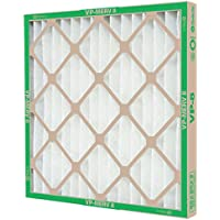 FLANDERS VP MERV 8 STANDARD-CAPACITY EXTENDED SURFACE PLEATED AIR FILTER, 24X25X1 IN., 12 PER CASE
