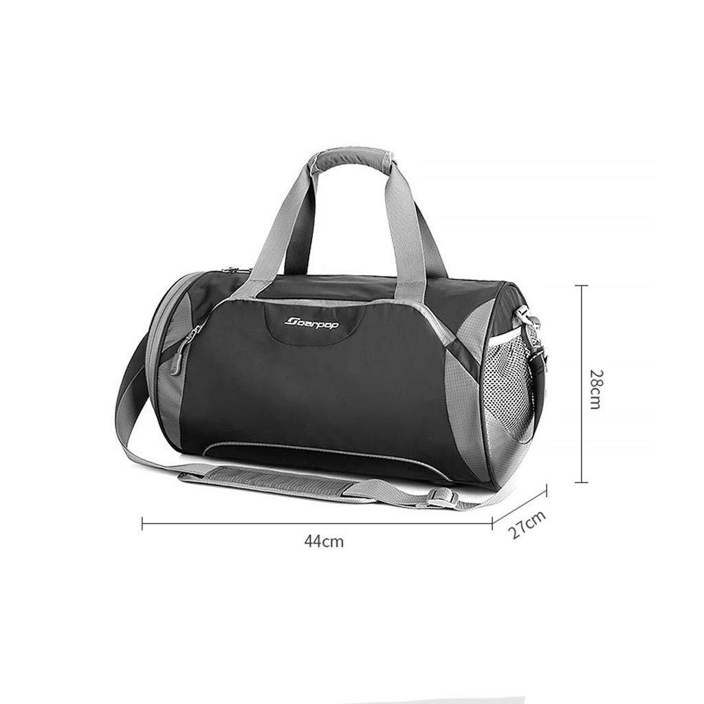 Fitness-Tasche Fitness-Sporttasche Trockene und nasse Separationszylinder-Trainingspaket Crossbody Crossbody Crossbody Umhängetasche (Farbe   SCHWARZ) B07LDZ21GW Klassische Sporttaschen Bestellungen sind willkommen 5705bf