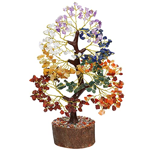 Crocon Gemstone Money Tree   Feng Shui Bonsai
