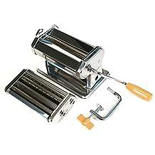 Fox Run 57666 Pasta Maker Machine/Roller, Stainless Steel