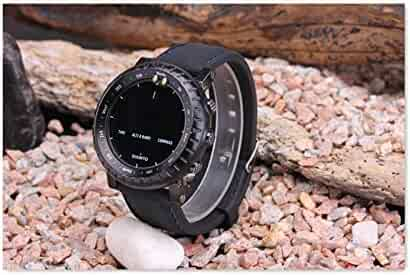 black Suunto Core Bell & Ross Blue Line Rubber Silicone Tactical Strap Band+Adapter+Buckle lugs