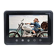 LCD Car Rearview Screen 9'' Full color LED backlight display Car Monitor High Resolution Picture Car Reverse Monitor with Remote Control
