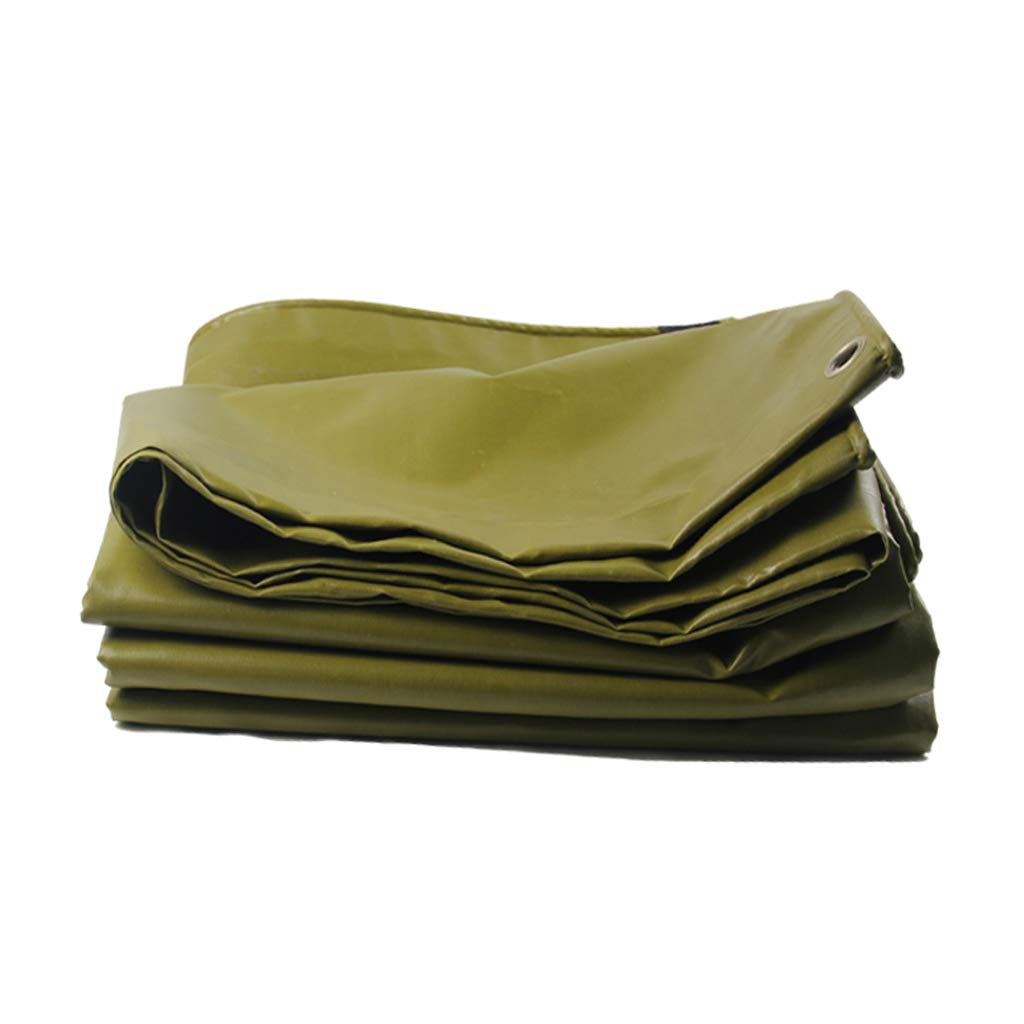 Plane LINGZHIGAN Regendichtes Tuch Wasserdichtes Tuch-LKW-Überdachungs-Tuch-Starkes Segeltuch PVC-Poncho Lichtschutz