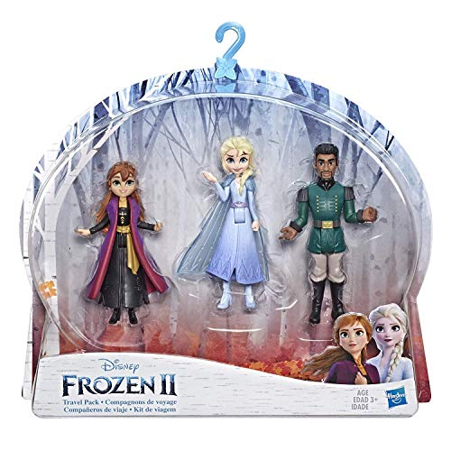 Disney Frozen Anna, Elsa, & Mattias Small Dolls 3 Pack Inspired by The Frozen 2 Movie