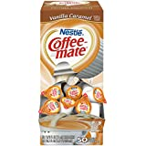 NESTLE COFFEE-MATE Coffee Creamer, Vanilla Caramel, 0.375oz liquid creamer singles, 50-count