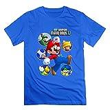 Agongda Guy's Nintendo New Super Mario Bros U T-shirts