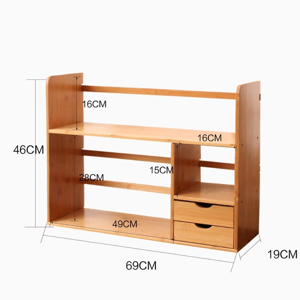 C3 GUI Desk Shelves, Office Simple Bookshelves, Student Bookshelves,Desktop Shelves, Storage Shelves, Finishing Rack, Office Desk Shelves