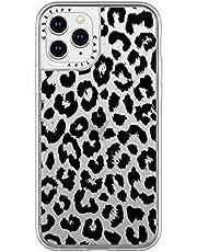 Casetify Grip Case Black Transparent Leopard Print for iPhone 11 Pro Cases