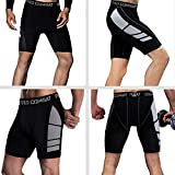 Men's Compression Shorts 3 Pack Quick Dry Sports