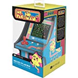 My Arcade Micro Player Mini Arcade Machine: Ms. Pac-Man Video Game, Fully Playable, 6.75 Inch Collectible, Color Display, Spe