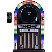 Craig Cht955 Cd Jukebox Speaker System with Color Changing Lights and Bluetooth Wireless Technology