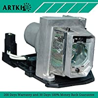 1210S Replacement Lamp 317-2531 / 725-10193 for Dell 1210S Projector with Housing (By Artki)