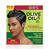 ORS Olive Oil Built-In Protection New Growth No-Lye Hair Relaxer System - Normal Strength