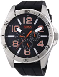 Hugo Boss Black Silcone Mens Watch 1512945 Review