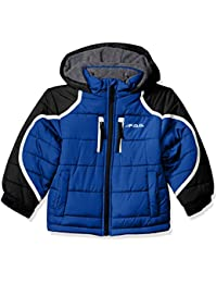 Boys' Hooded Pieced Puffer Jacket