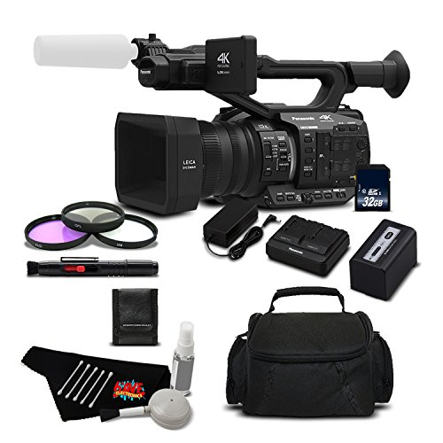 Panasonic AG-UX90 4K/HD Professional Camcorder Standard Bundle - International Version