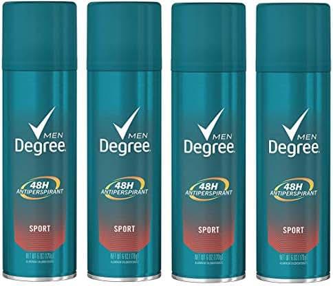 Deodorant: Degree Men's Dry Spray