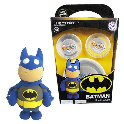 Batman Super-Dough Do It Yourself Modelling Set B00YVQ4HA8 | Haltbarkeit