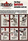 2000 Sports Cards Magazine/Fleer 6 Card Uncut Sheet